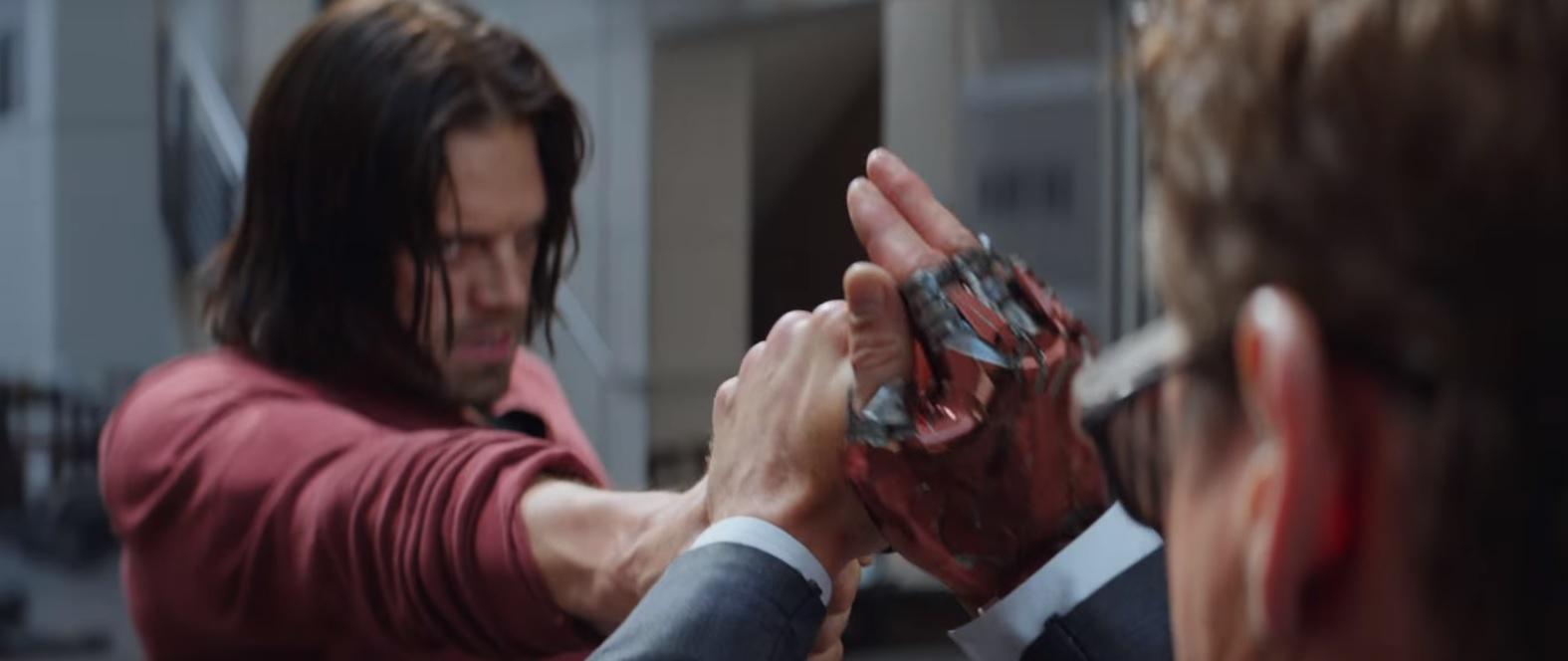 Bucky vs Tony Stark