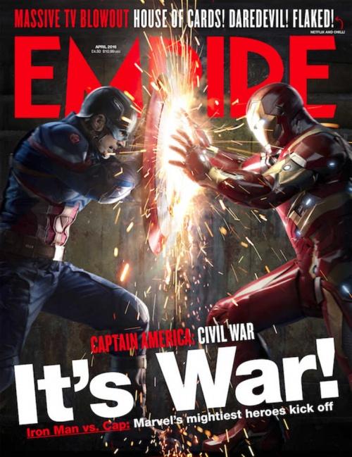 Portada de Empire Magazine