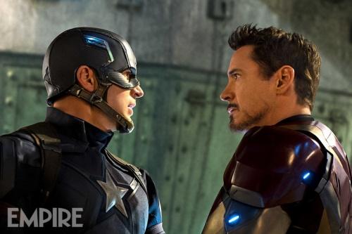 El Capitán y Tony Stark