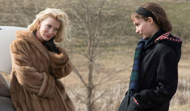 "Cate Blanchett y Rooney Mara en ""Carol"".Foto: nybooks.com"