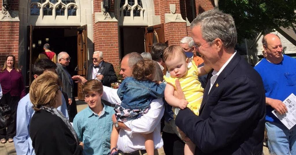Jeb Bush. Foto: unionleader.com