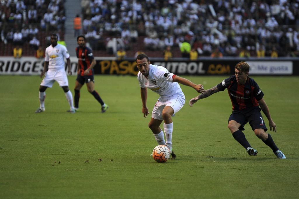 Liga de Quito 1 - 0 San Lorenzo   La República EC