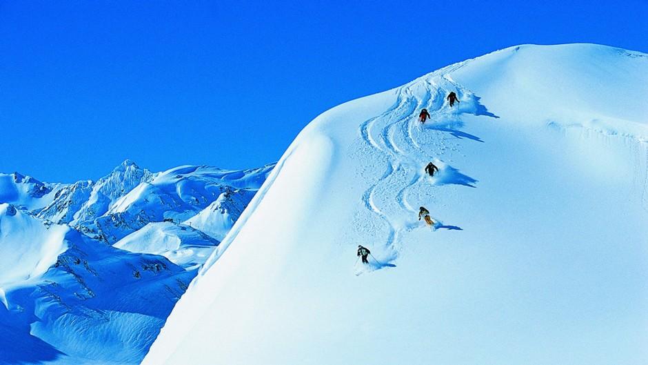 avalancha esquí