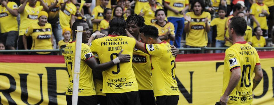 Guayaquil 14 de Febrero del 2016. Barcelona vs Delfin. Fotos: Marcos Pin / API