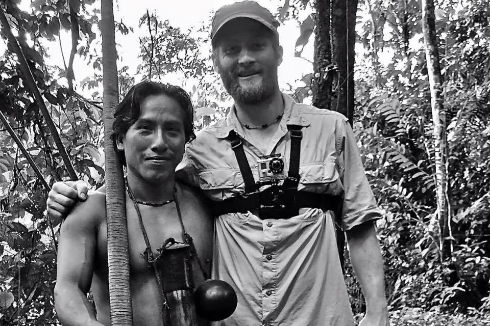 El asesinado waorani Caiga Baihua, en una foto publicada en Facebook por su tío Peni Baihua.