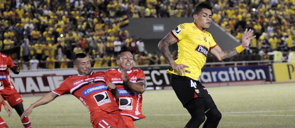 Guayaquil 17 de Febrero del 2016. Barcelona vs River Ecuador. Fotos: Marcos Pin / API