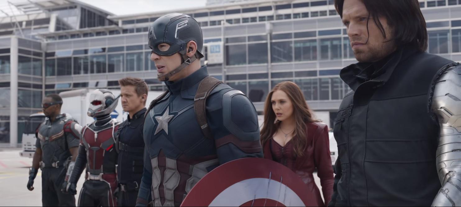 Imagen de Captain America: Civil War.