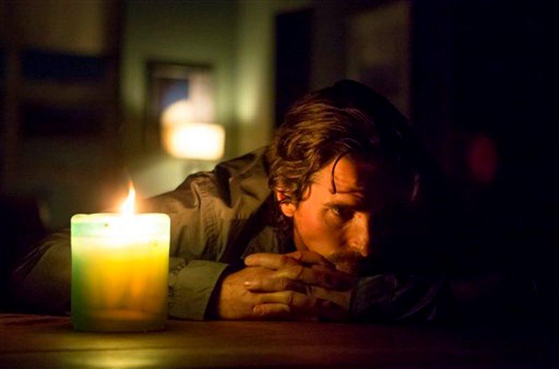 Christian Bale con vela