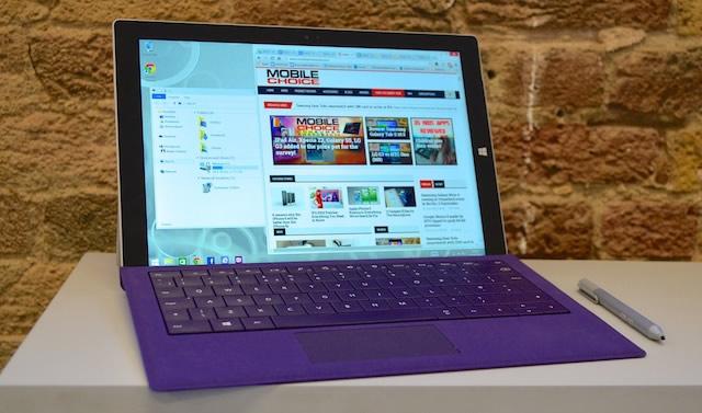 Foto: Microsoft Surface pro 3. Foto: 3g.co.uk
