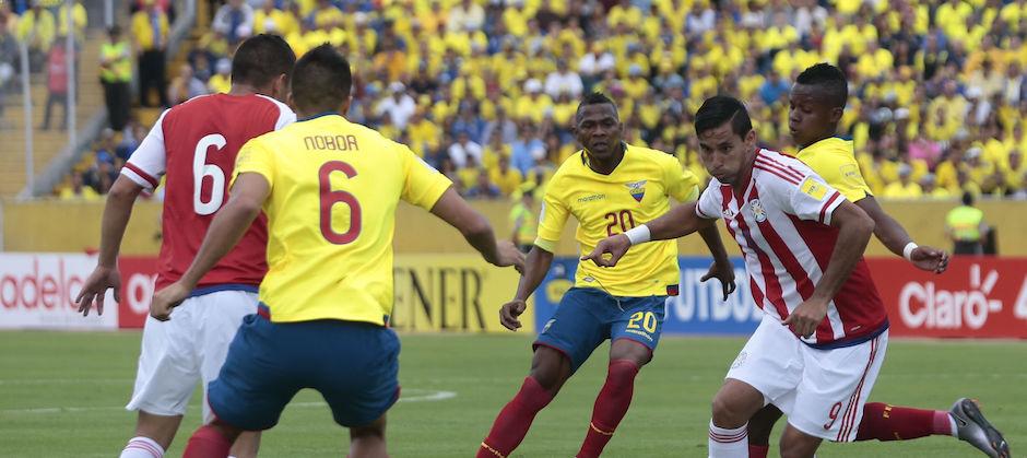 ECUADOR, Quito, (2016/03/24). Ecuador vs Paraguay. FOTOS API / JUAN CEVALLOS.