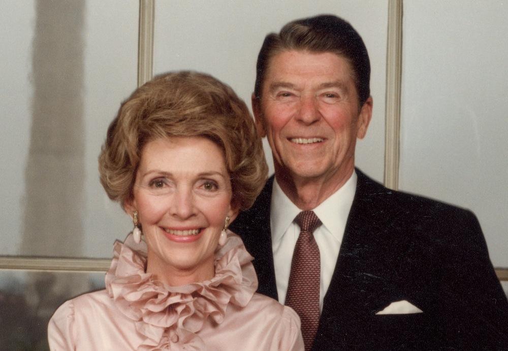 Nancy y Ronald Reagan.