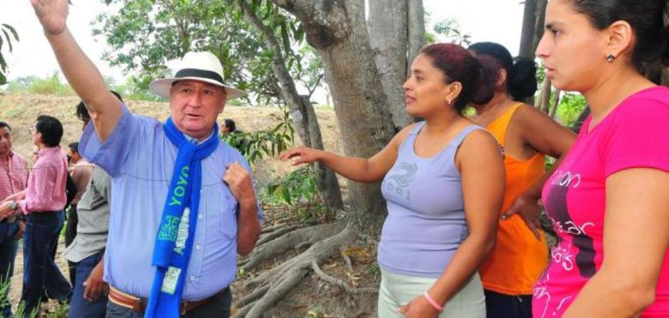 El exalcalde de Jujan, Yoyo Herrera, en una foto de archivo, difundida por la web de Ecuavisa.