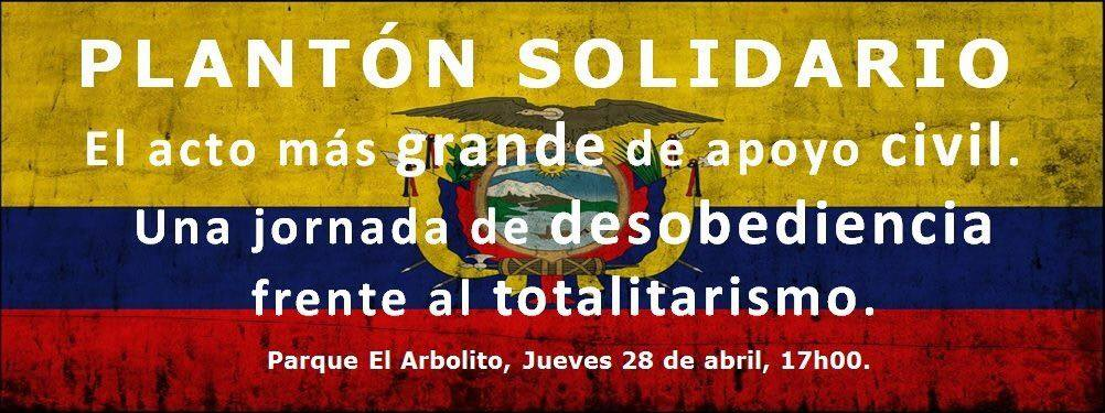 Plantón Solidario