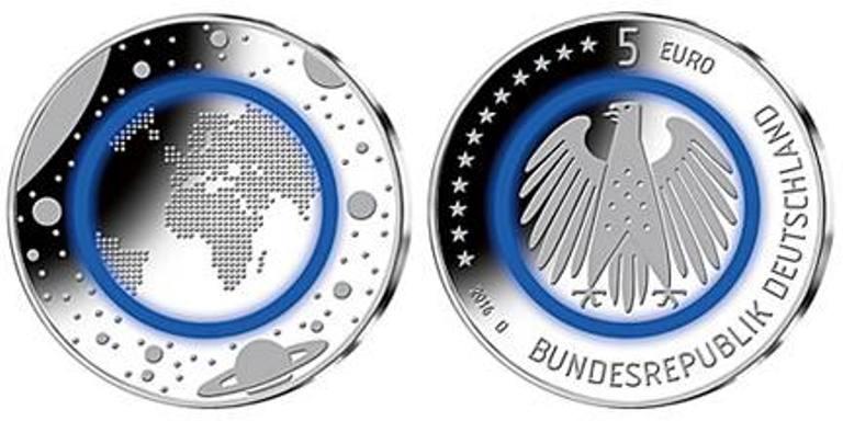 alemania pondr en circulaci n una moneda de cinco euros la rep blica ec. Black Bedroom Furniture Sets. Home Design Ideas