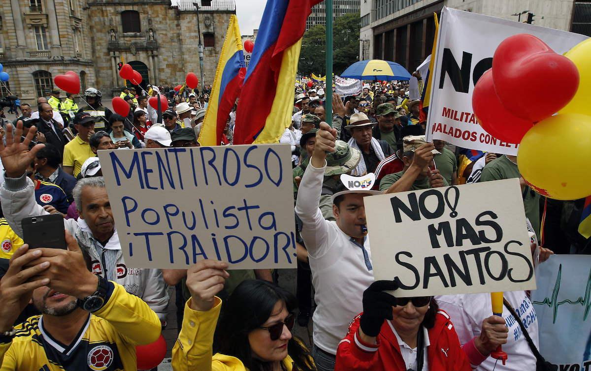 ¡Golpe de Estado!. Cae Santos en Colombia