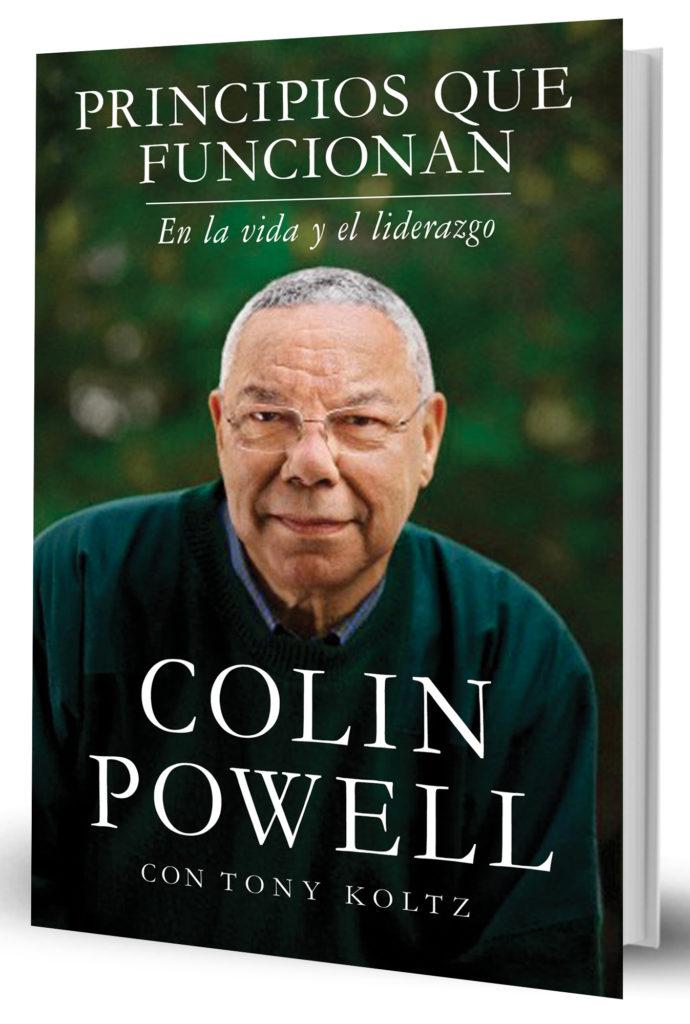 """MIAMI (FL, EE.UU.), 13/04/2016.- Fotografía cedida hoy, miércoles 13 de abril de 2016, de la portada del libro """"Principios que funcionan"""" del exsecretario de Estado de EE.UU. Colin Powell, quien brinda consejos sobre liderazgo e introduce al lector en las esferas del poder político. El libro acaba de ser publicado por primera vez en español. EFE/HARPER COLLINS/SOLO USO EDITORIAL/NO VENTAS"""