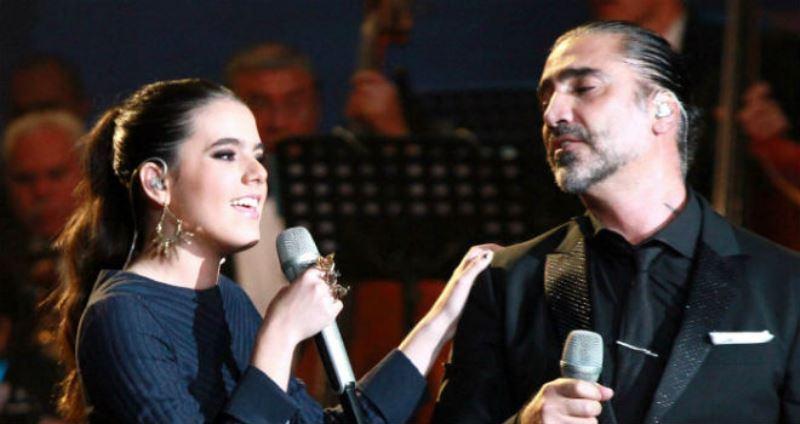 Camila y Alejandro Fernández. Foto: biobiochile.cl