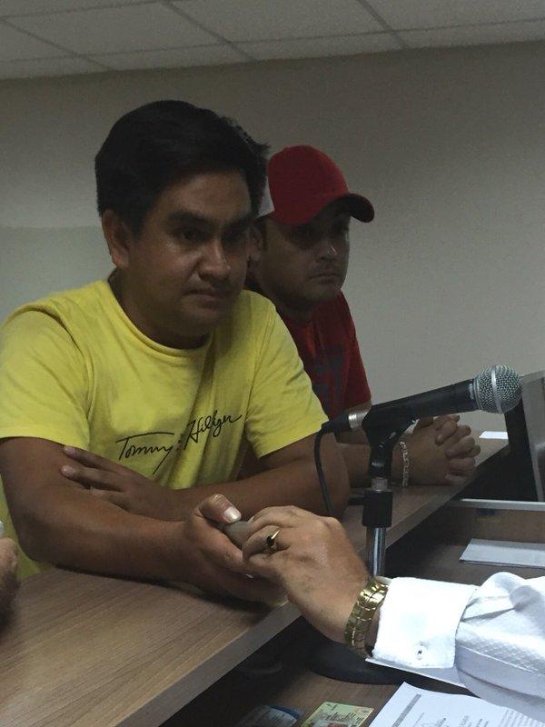 Los dos hombres que capturaron a Diego Zapatier el 7 de marzo de 2016 en 9 de octubre y malecón.