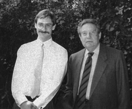 Christopher Domínguez y Octavio Paz. Foto de Archivo.