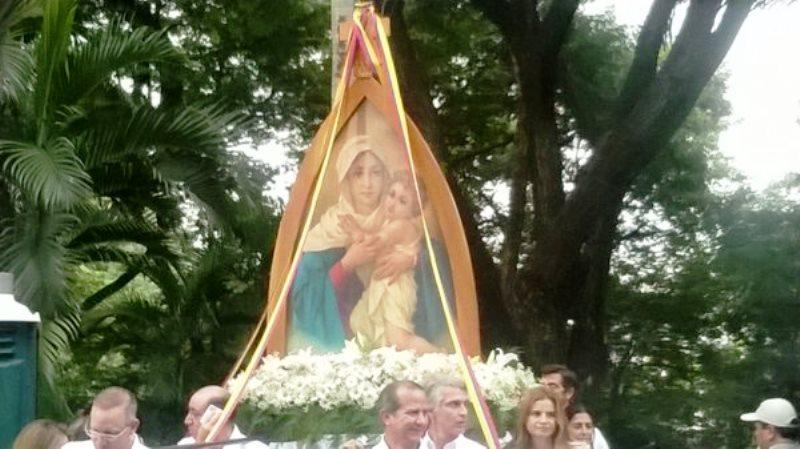 Madre Tres Veces Admirable de la parroquia Los Ceibos-