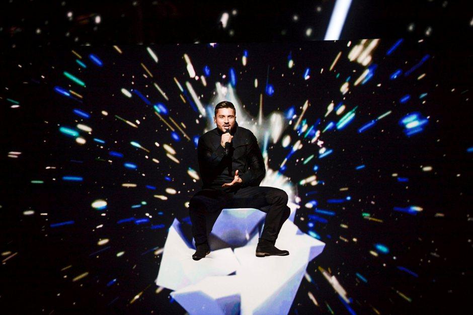 Sergei Lazarev, el representante ruso en el Festival Eurovision 2016.