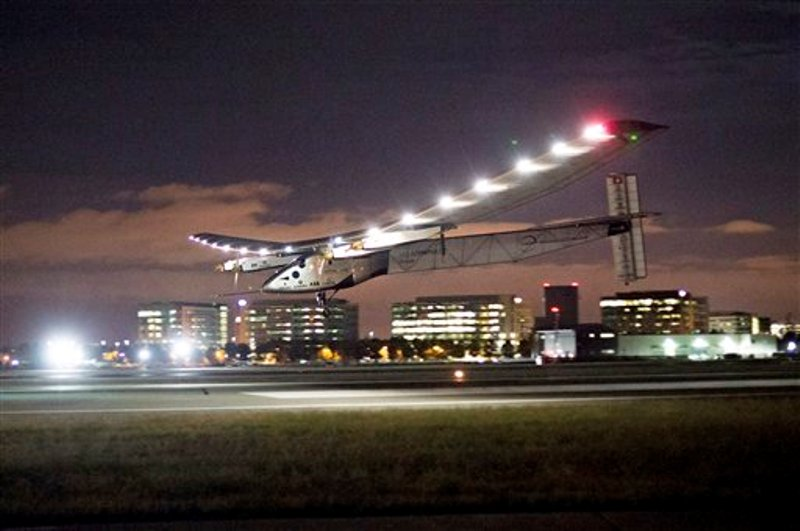 avión solar California