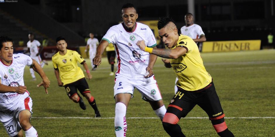 Guayaquil 20 de Mayo del 2016. Barcelona vs Mushuc Runa. Fotos: Marcos Pin / API