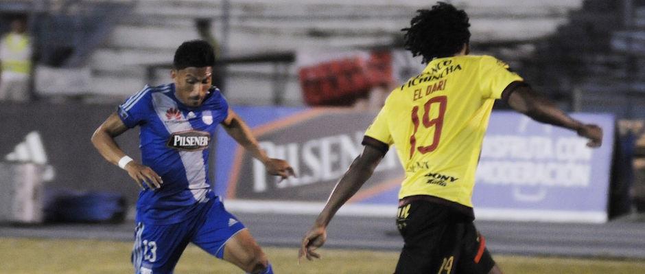 Guayaquil 11 de Mayo del 2016. Emelec vs Barcelona. Fotos: Marcos Pin / API