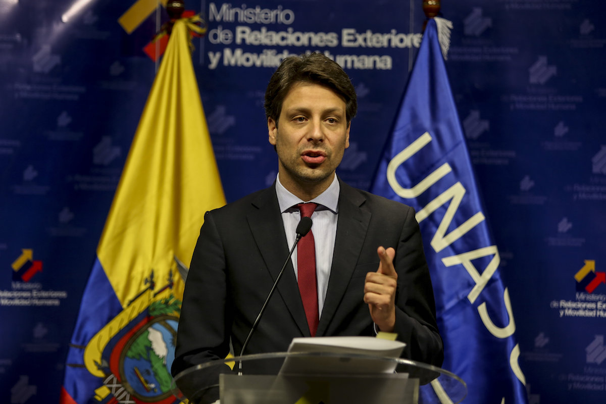 ECUADOR DICE QUE COMITÉ DE DDHH DE ONU RECHAZÓ ALEGATO DE EXBANQUEROS CONDENADOS