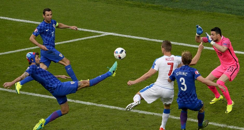 Group D Czech Republic vs Croatia