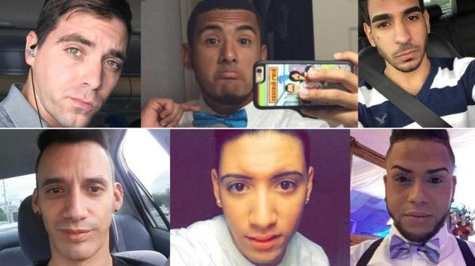 Victimas del atentado en Orlando.