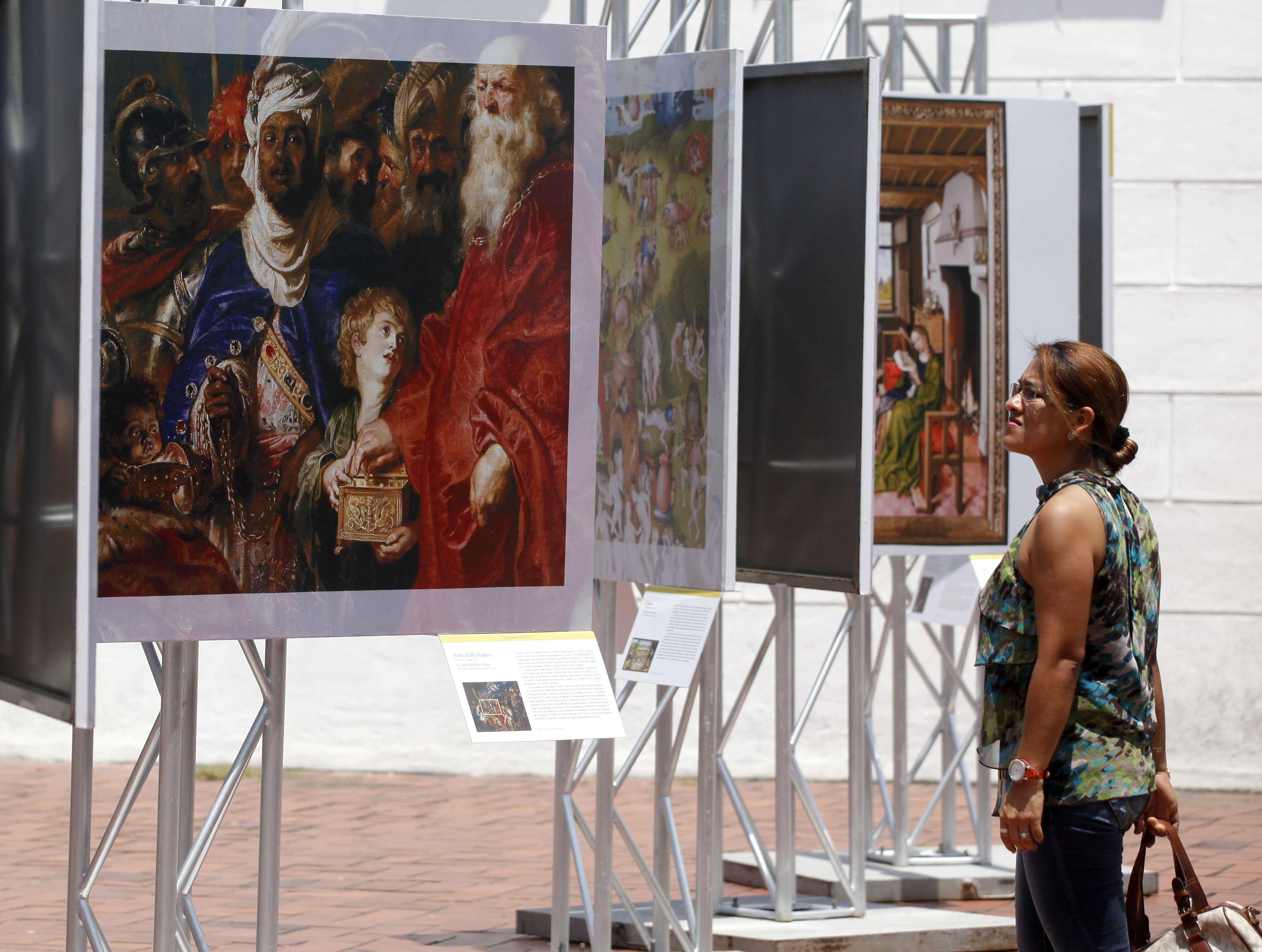 MÁS DE 50 RÉPLICAS DE OBRAS DEL MUSEO DEL PRADO LLEGAN A LAS CALLES DE PANAMÁ