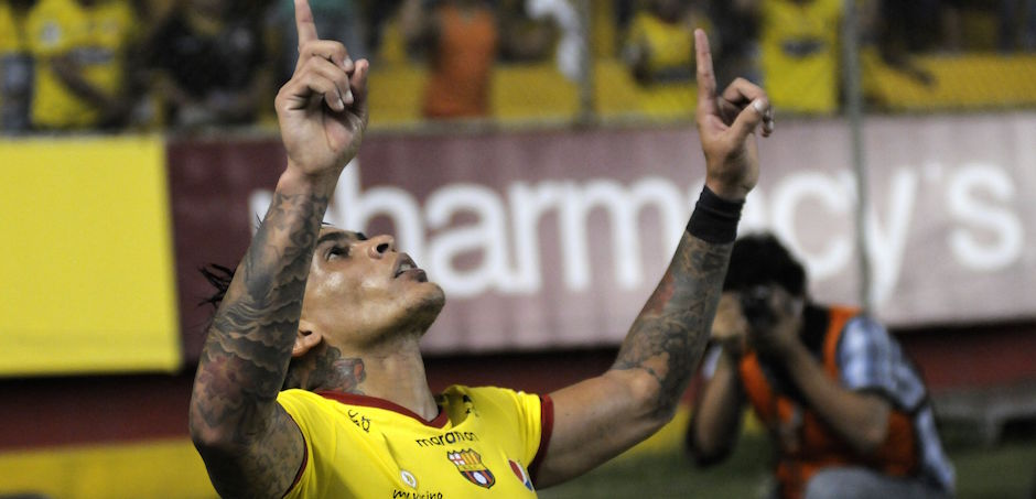 Guayaquil 13 de Julio del 2016. Barcelona vs River Ecuador. Fotos: Marcos Pin / API