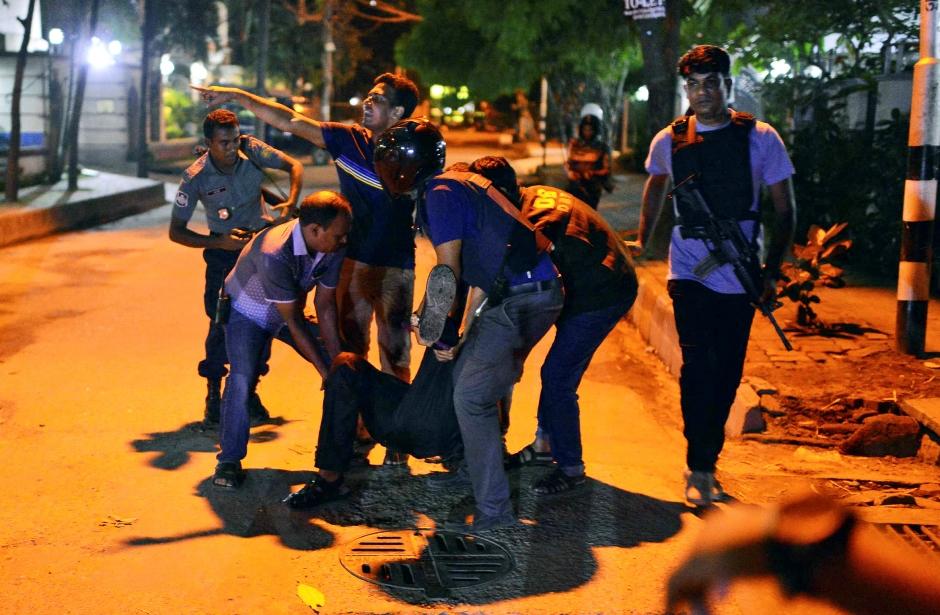 BANGLADESH-ATAQUE