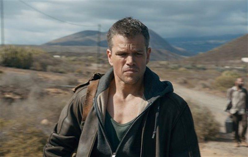 """Matt Damon en una escena de """"Jason Bourne"""" en una imagen proporcionada por Universal Pictures. (Universal Pictures via AP)"""
