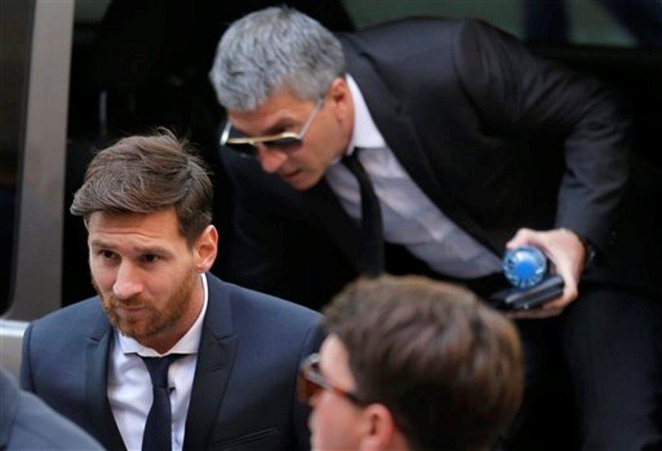 Messi en tribunal