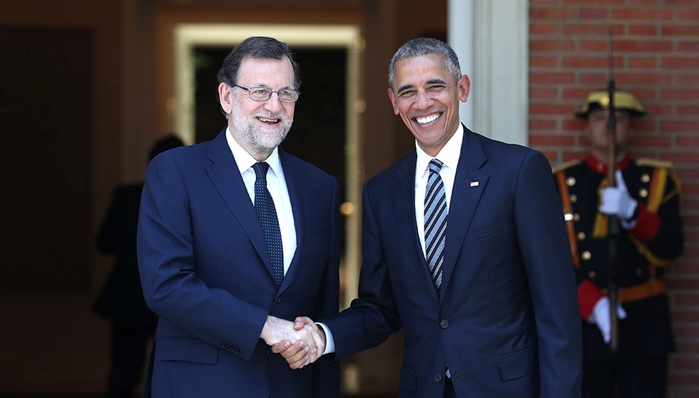 ¿Cuánto mide Mariano Rajoy? - Altura - Real height Rajoy-y-Barack-Obama-en-Madrid