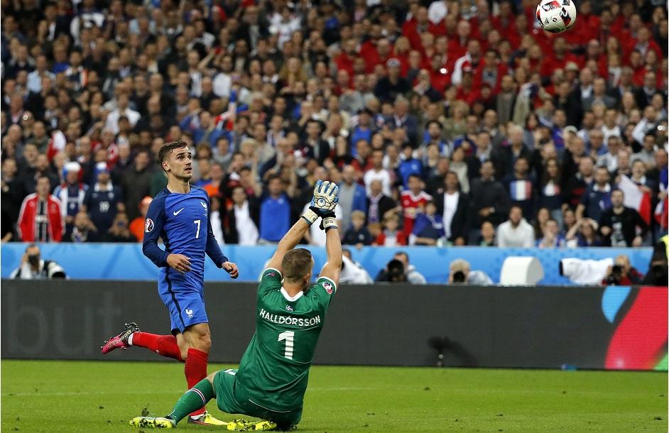 Quarter final France vs Iceland