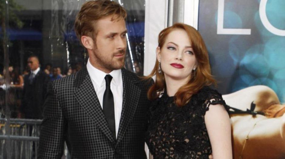 "Foto: ""La La Land"", protagonizada por Ryan Gosling y Emma Stone."