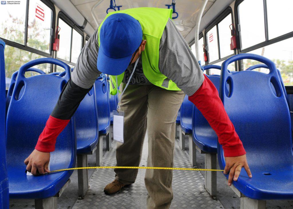 Guayaquil 1 de Agosto 2016. La Autoridad de Tránsito Municipal inició la revisión de buses previo al incremento de pasajes. Fotos: Marcos Pin / API
