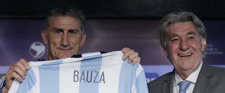 Edgardo Bauza,Armando Perez.