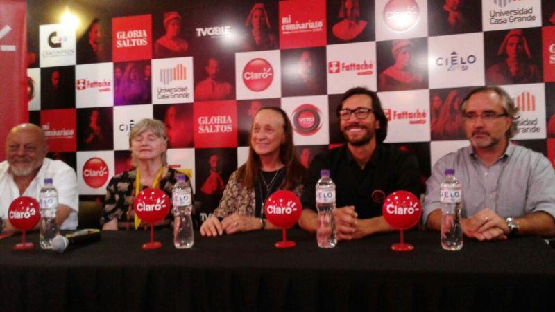 Ramón Barredo, Odile de Chiriboga, Marina Salvarezza, Jaime Tamaríz, Enrique Rojas