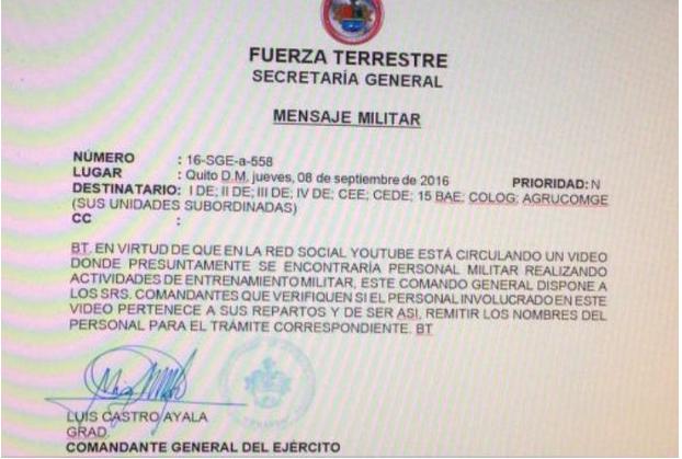 Luis Castro ordena investigación.
