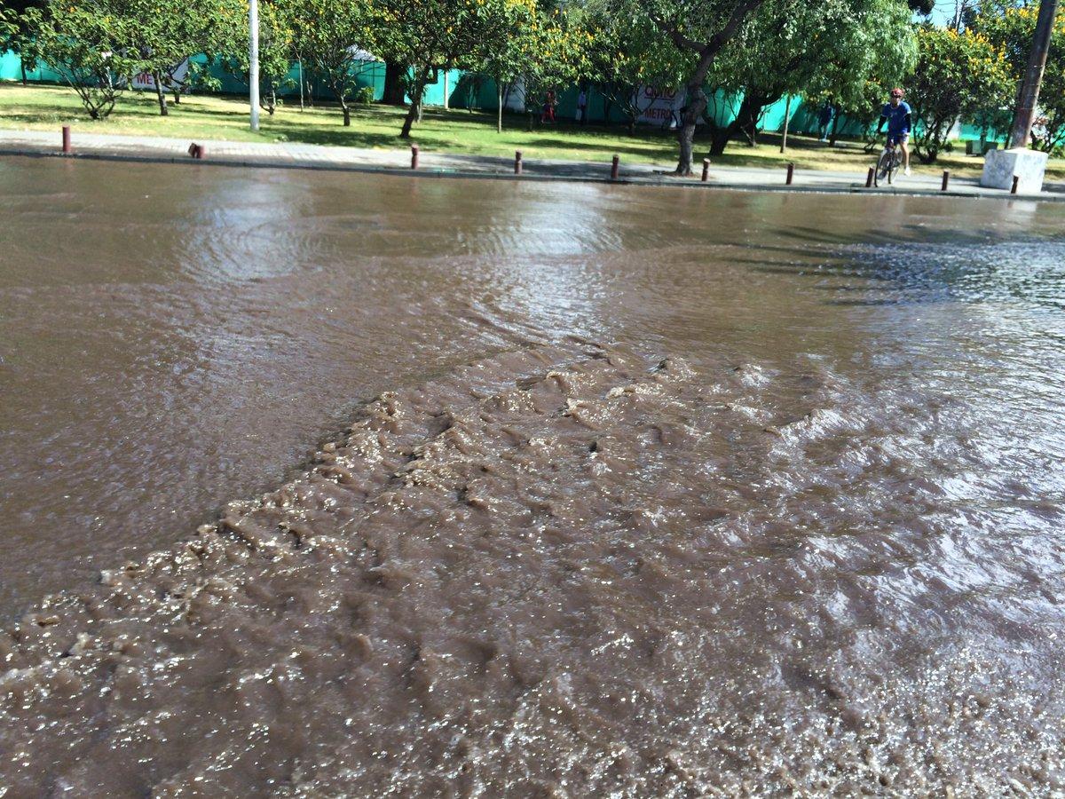 Suspenden servicio de agua en quito por fuga en la for Agua potable quito