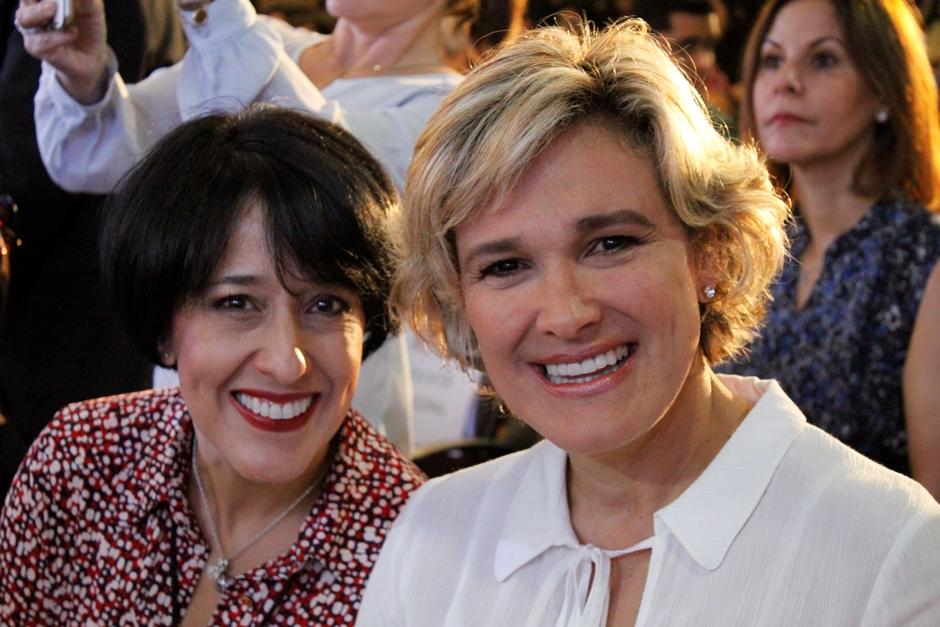 María Fernanda Heredia y Cynthia Viteri en la Feria del Libro 2016