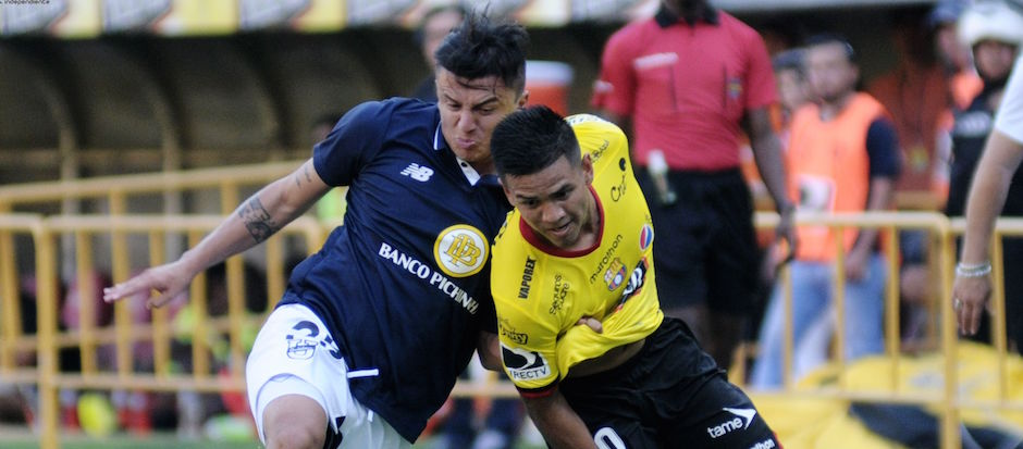 Guayaquil 4 de Septiembre de 2016. Barcelona vs Católica. Fotos: Marcos Pin / API