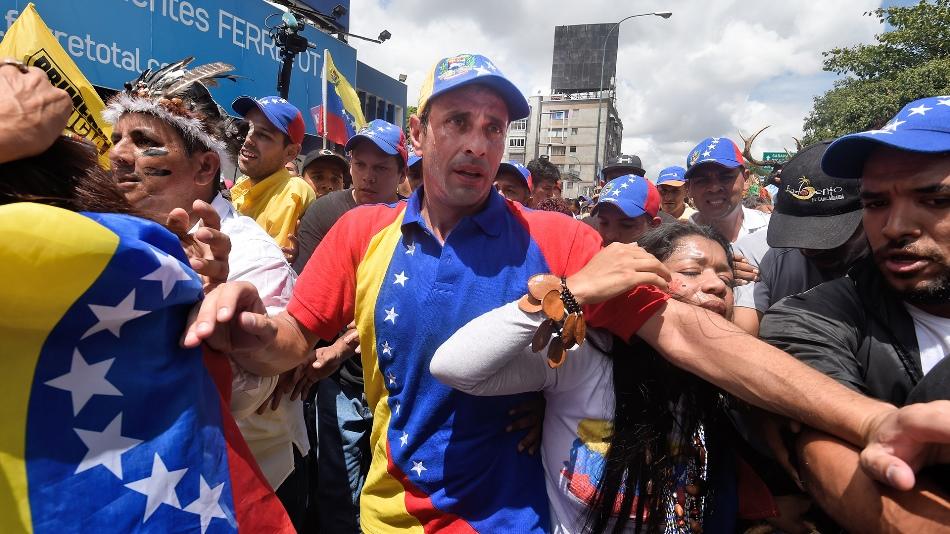 Henrique Capriles. Foto Cortesía AFP.