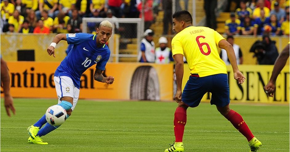 ECUADOR - QUITO (2016/09/01) Ecuador vs Brasil. FOTOS API / JUAN CEVALLOS.