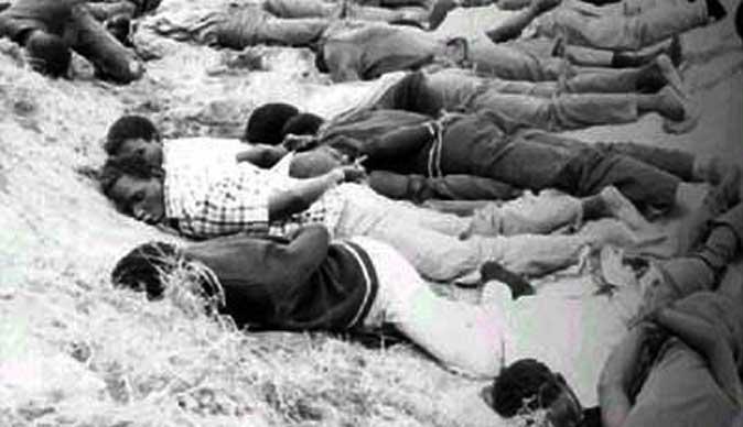 El período de represión conocido como Gukurahudi, en Zimbabue, ocurrido entre 1982 y 1990.