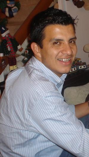 Juan Camilo Mora, antes de ser secuestrado por las FARC.